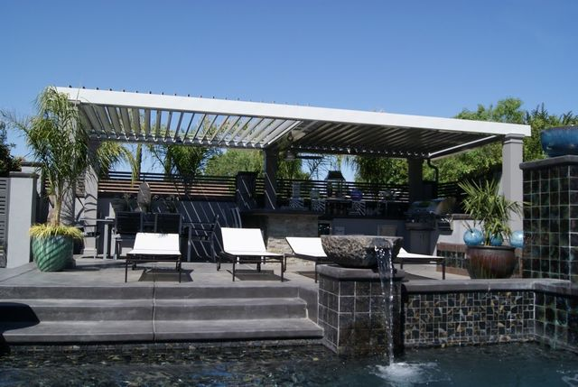 Professional transforming the outdoor in a patio design in West Sacramento, CA