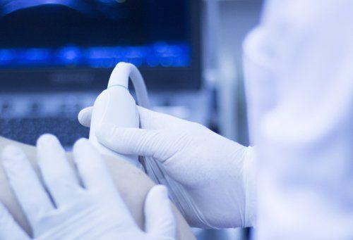 visita medica con ecografia