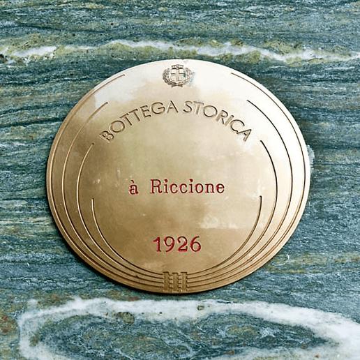 medaglia di bottega storica