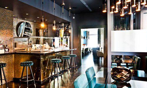 vista interno di ristorante a' riccione