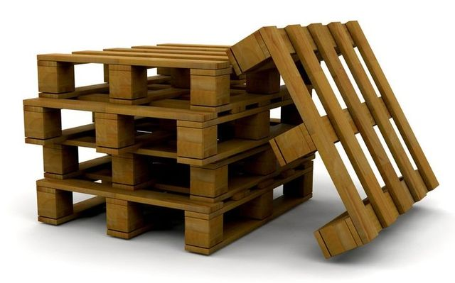 4 pallets in a stack