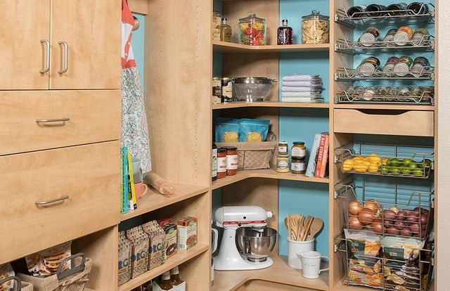 Custom Kitchen Pantry Shelving