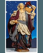 Statuetta lavandaia per presepe