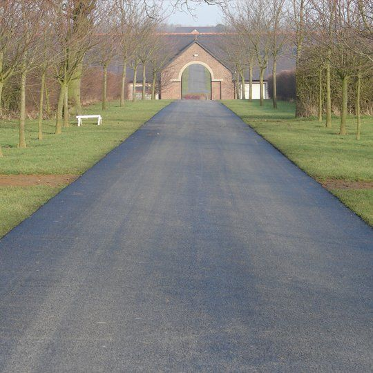 high-quality tarmacadam surface