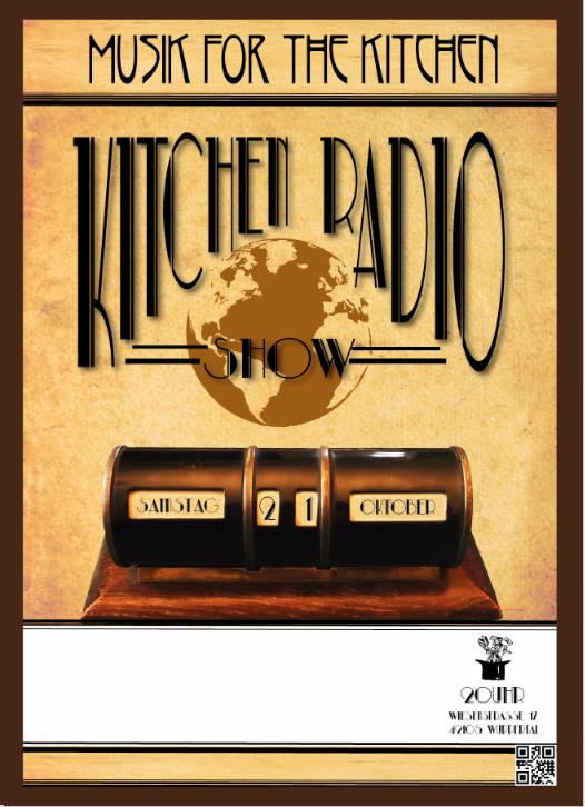 Flyer Kitchen Radio Show