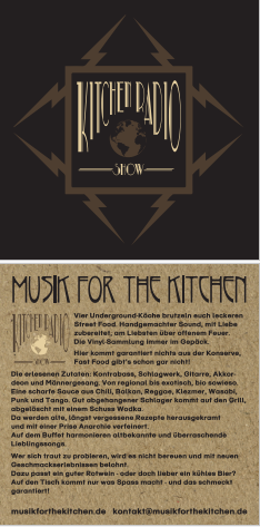 Flyer Musik For The Kitchen 2