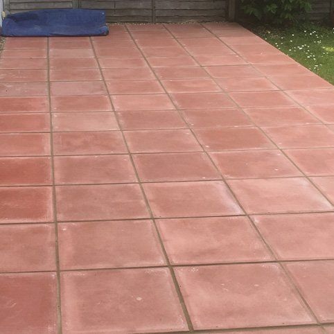 exterior surface cleaning