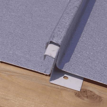 tetti in doppia aggraffatura