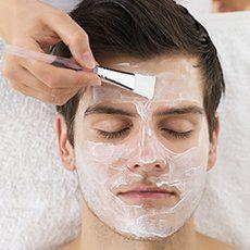 men's skincare treatment