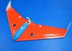 un aeroplanino arancione e blu
