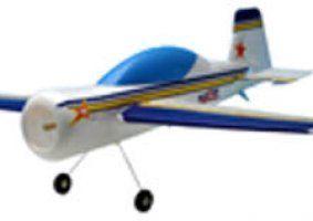 un aereoplanino bianco giallo e blu