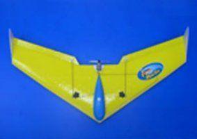un aeroplanino giallo