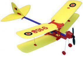 un aeroplanino bianco e rosso