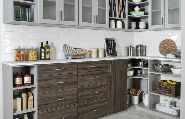 Kitchen Pantry Organizers | Custom Kitchen Cabinets | Toledo ...