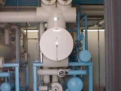 un condotto di un impianto