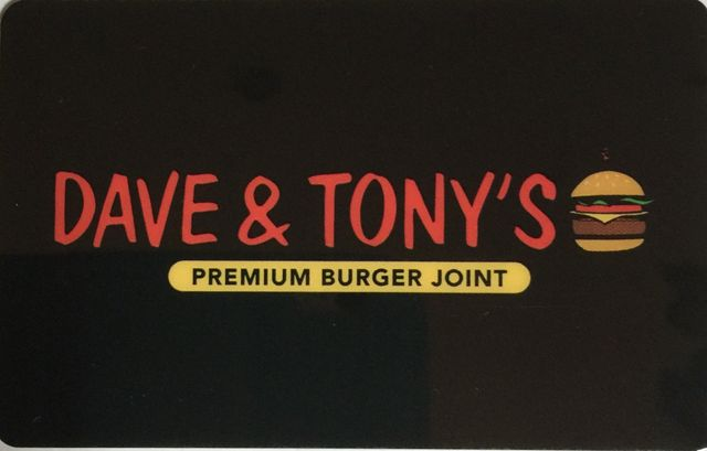Dave and Tony's Gift Card