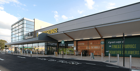 Morrisons shopping centre in Blaydon