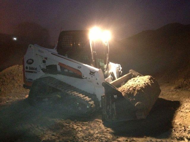 Excavation machine in Waikato