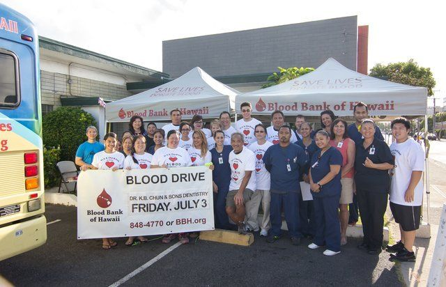 Our 8th Annual Blood Drive