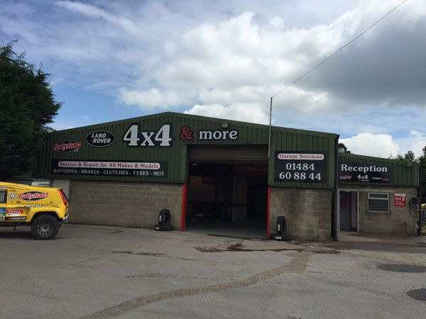 Our garage for car repairs and maintenance in Huddersfield