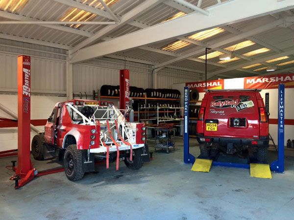Repairing 4x4 vehicles at our garage in Huddersfield