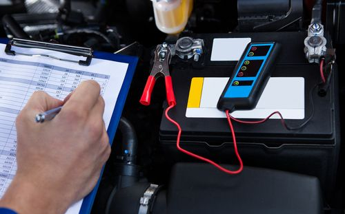 Diagnostics for car tyres at our garage in Huddersfield