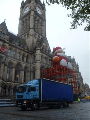 For a local courier service in Preston call E and C Distribution