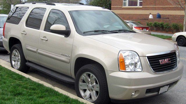 GMC Yukon Denali 1 by David Guo , used under CC BY 2.0