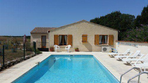 Hirondelle villa with heated pool