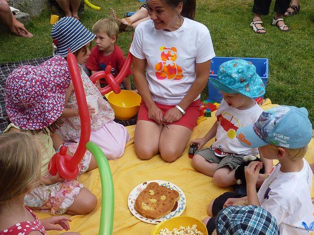 teddy bear picnic la grange du moulin child friendly gites
