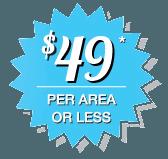 $49 per area icon