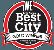 Best of the City Award logo