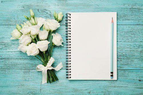 quaderno per lista nozze
