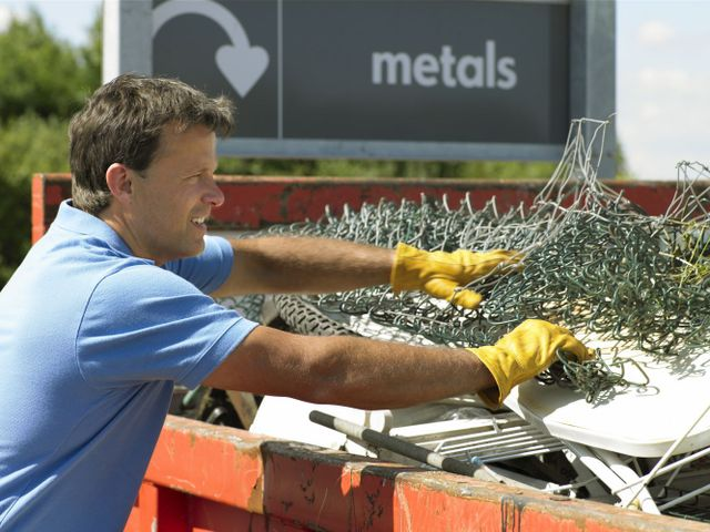 Scrap metal expert recycling house waste in Whangarei