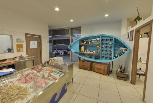 sala ristorante, pescheria, specialità di pesce
