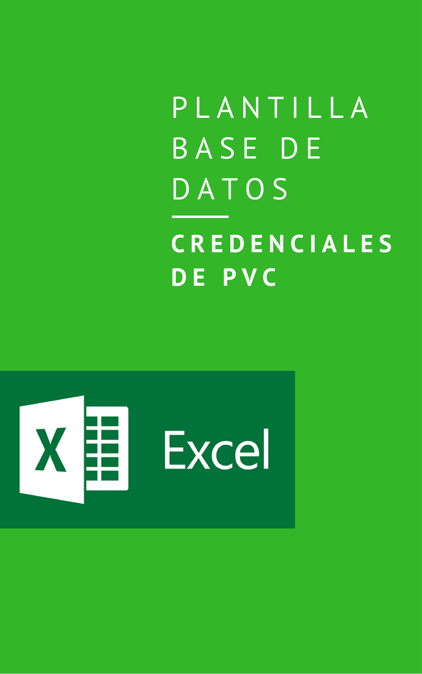 Descargar Plantilla Base de Datos