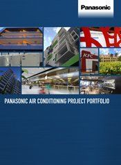 panasonic project portfolio brochure cover