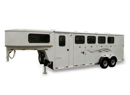 Titan Classic Ii Gooseneck Horse Trailer Bvt Kansas