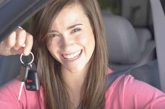 Another woman with her keys is driving school success story in Liberty Township, OH