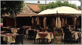 ristorante con veranda