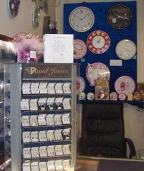 Antique jewellery - Ludlow, Shropshire - David James Jewellery - Clocks