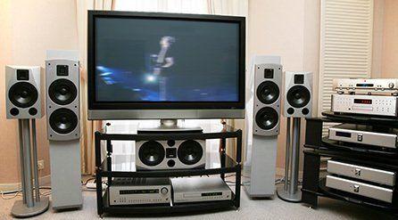 A home cinema system