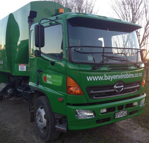 green waste truck