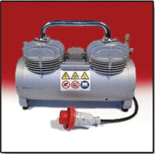 Compressore intonacatrice