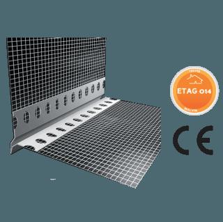 Gocciolatorio Forato in PVC a vista con rete