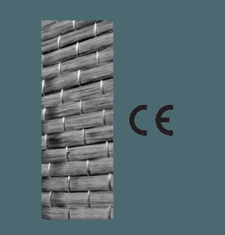rinforzi unidirezionali termoisolanti in fibra di carbonio