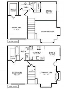 Rockridge Commons Floor Plans See Our Spacious Apartment Layouts
