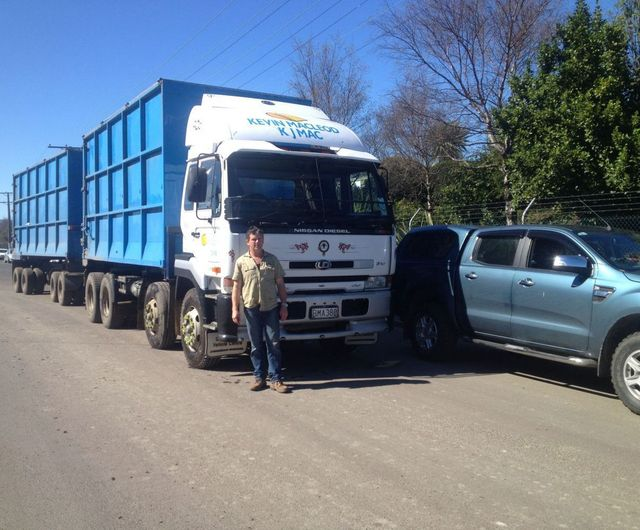 Earthmoving expert on site in Otago