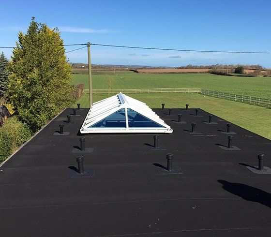 Durable EPDM rubber roofing