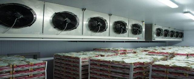una cella frigorifera